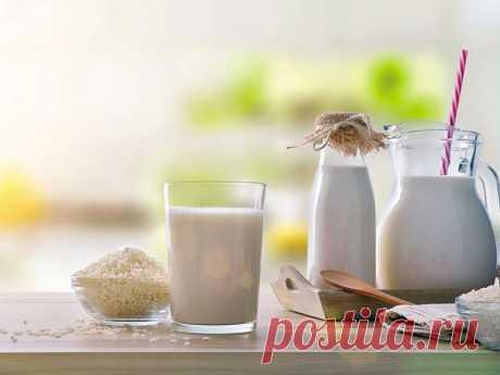 Как сделать рисовое молоко
