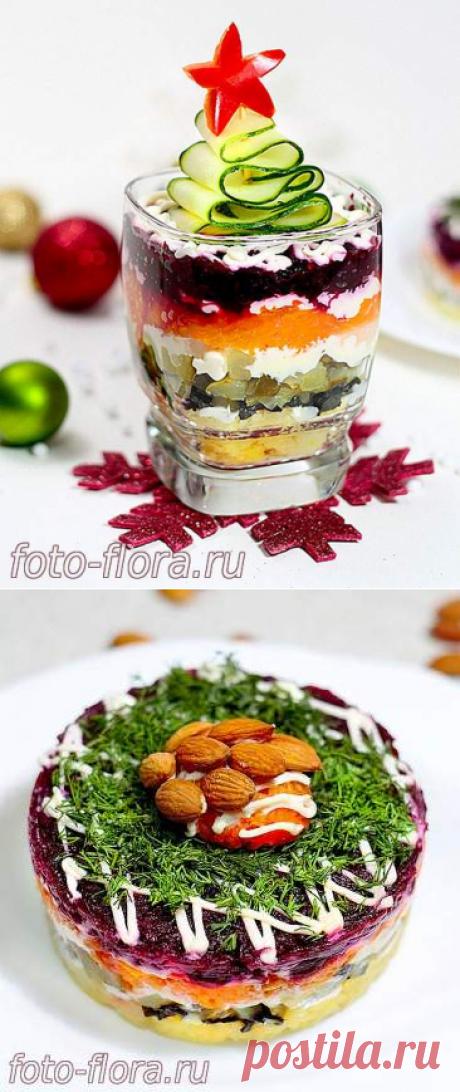 Вкусный салат шуба без селедки, рецепт с фото с советами - как украсить новогодний салат