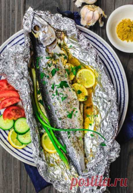 Скумбрия в духовке — 4 быстрых и вкусных рецепта для здорового питания
