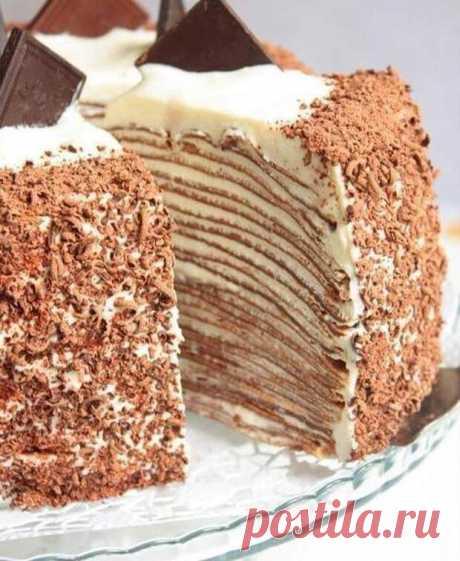 Блинный торт - вкуснятина! | Четыре вкуса