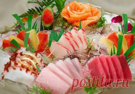 Знакомство с японской кухней « Рецепты Надежды