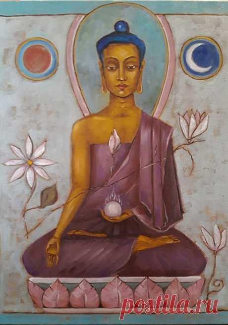 Заповеди Будды. Самый большой враг в жизни человека - это он сам...