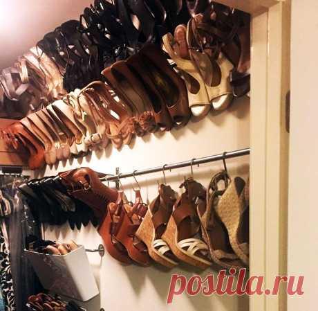 Как правильно хранить обувь в шкафу: стойки, коробки, органайзеры