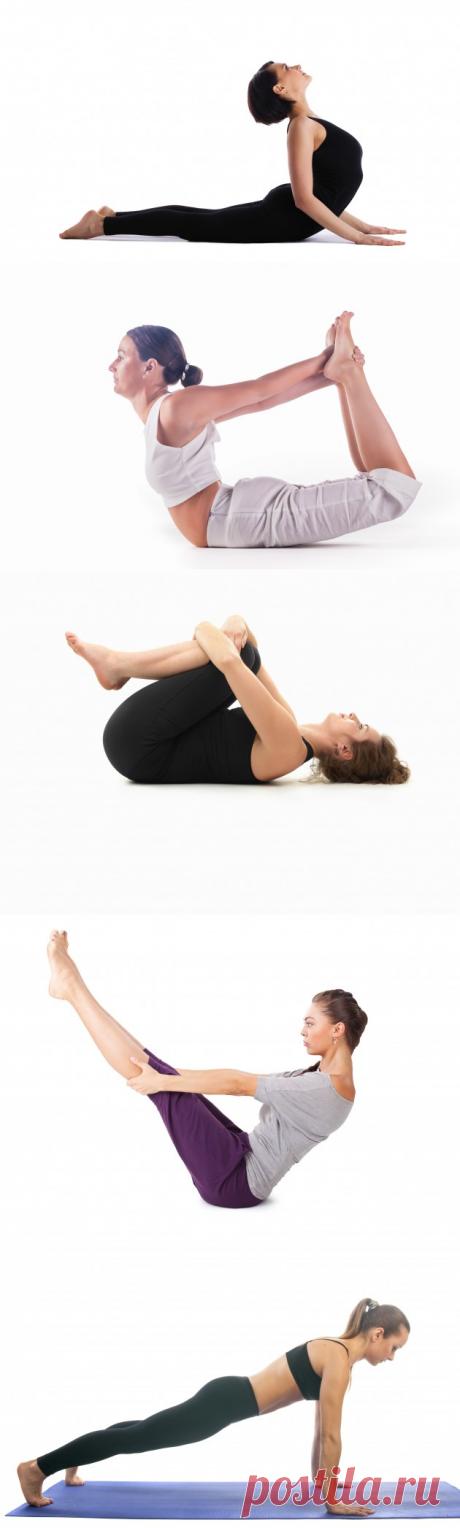 Йога для живота: 5 несложных поз, которые помогут вернуть стройность - Хитрости Жизни - медиаплатформа МирТесен