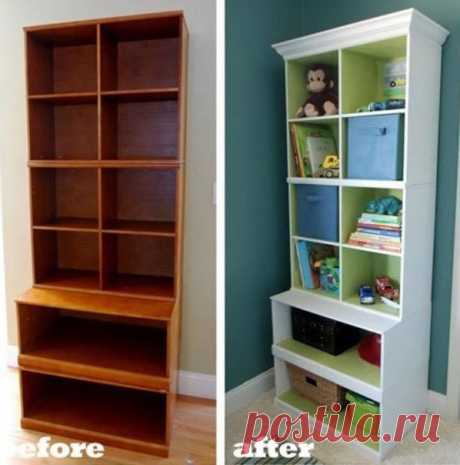 10 enthusiastic examples of alteration of old Soviet furniture