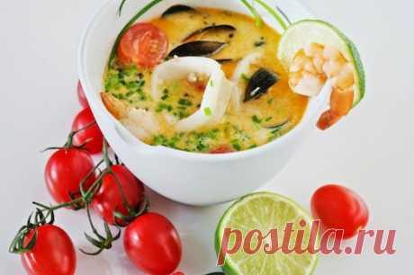 Как приготовить вкусный тайский суп?