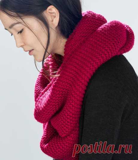 Как правильно носить шарф-хомут: лучшие способы