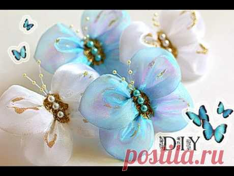 Butterflies - Bows the Hands | Butterfly | DIY