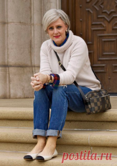 Три простые модные подсказки для женщин 60+ | Стиль вне размера | Яндекс Дзен