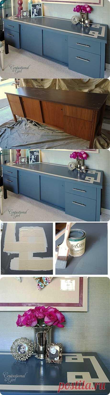 Обновляем старый шкафчик | Умелые ручки