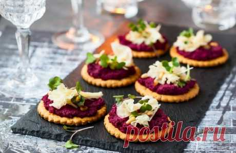 Пять оригинальных закусок к Новому году — Вкусные рецепты