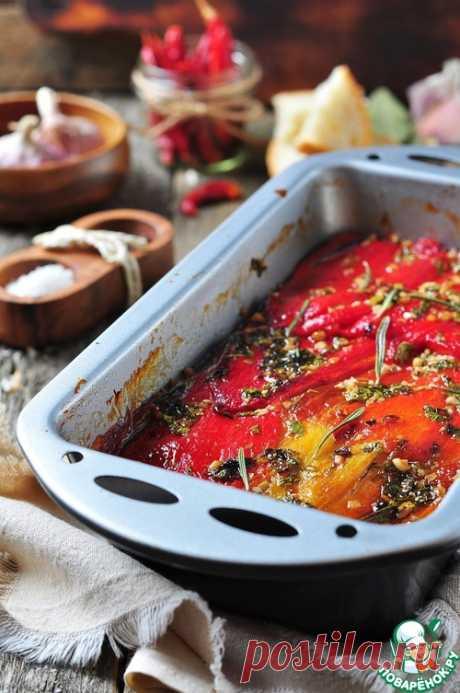 Овощной тьян из баклажанов и болгарского перца – кулинарный рецепт