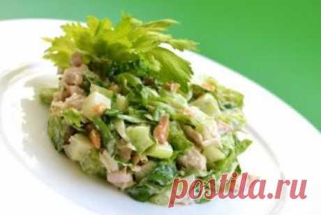 Салат с курицей и сельдереем: рецепты приготовления с фото