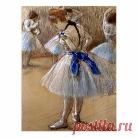 Danseuse (Dancer), Edgar Degas Postcard | Zazzle.com