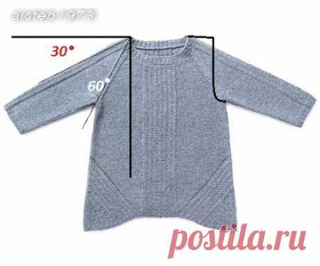 Коригування реглана плечовими витачками для піднятих, високих або стандартних плечей від aisteb1973