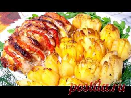 ГОРЯЧЕЕ БЛЮДО мясо . картошка.  маринад