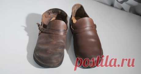 Не выбрасывайте старую кожаную обувь! Есть способ, чтобы она стала как новая ...