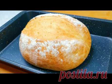 Я больше не покупаю хлеб! Новый идеальный рецепт быстрого хлеба за 5 минут хлеб без молока