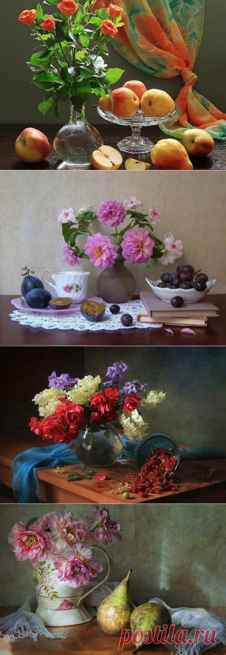 Натюрморты с фруктами и ягодами