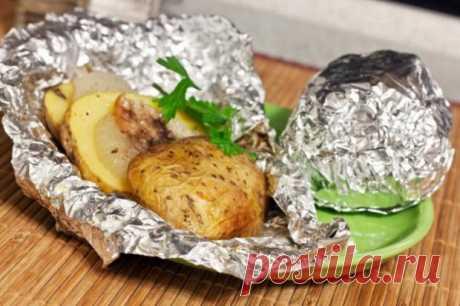 Приготовление еды в фольге: насколько это опасно для здоровья - Досуг - Кулинария на Joinfo.ua