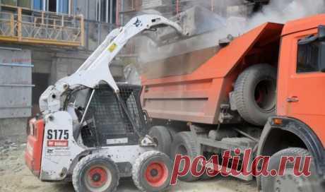 Вывоз строительного мусора после ремонта