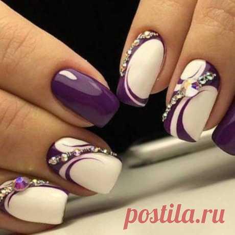 9 трендов самого стильного маникюра на короткие ногти   Чаровница и проказница