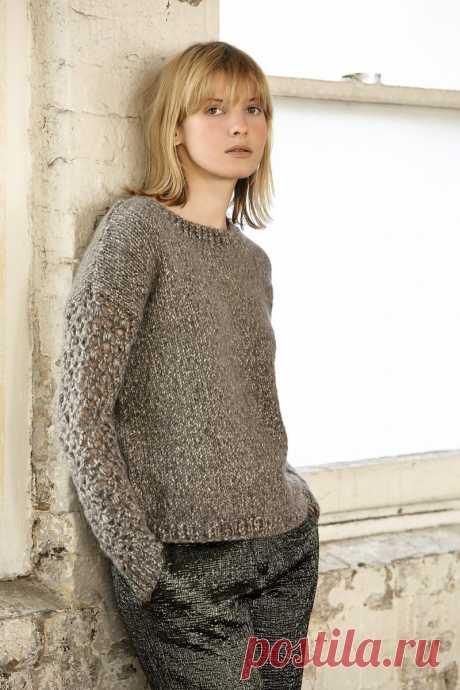Как связать пуловер: 90 фото и видео мастер-класс вязания самых модных моделей