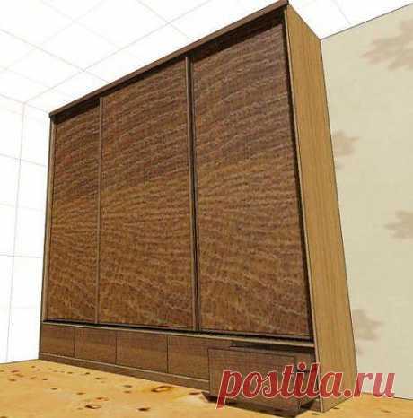 Шкаф-купе своими руками. Фото