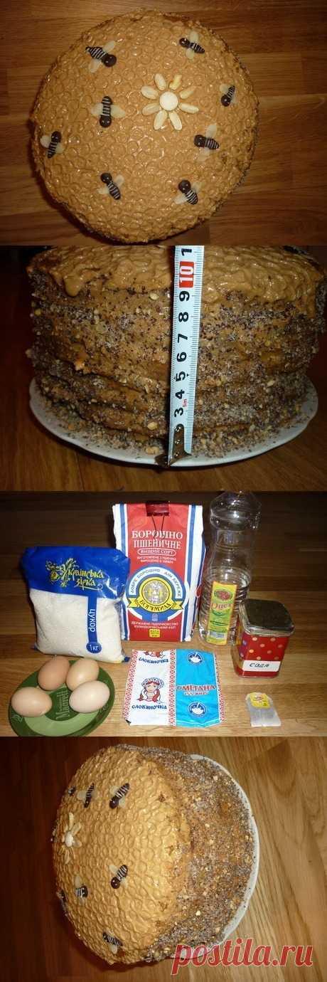 """Торт """"Сюрприз"""" или """"Мозаика"""" - как хотите называйте, просто очень вкусно и красиво"""