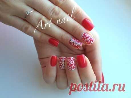 Дизайн Ногтей Завитки или Вензеля! Nail Art Designs