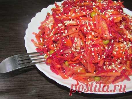 Когда до зарплаты пару дней, но хочется вкусно поесть, готовлю такой салат. Выручает! | Рецепты от БюдЖетницы | Яндекс Дзен