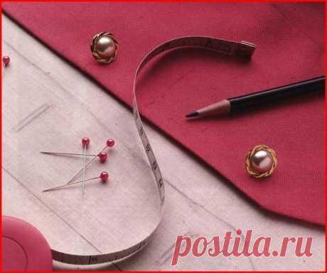 Как переснять выкройку с готового изделия (Шитье и крой) — Журнал Вдохновение Рукодельницы