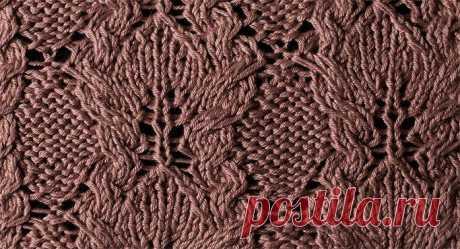 Узор №23 для вязания на спицах | Penelopa — дизайнерские схемы для вязания на спицах