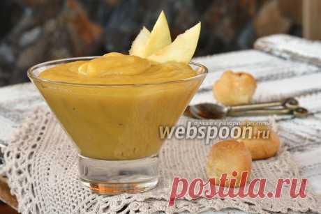 Заварной яблочный крем с маслом рецепт с фото, как приготовить на Webspoon.ru