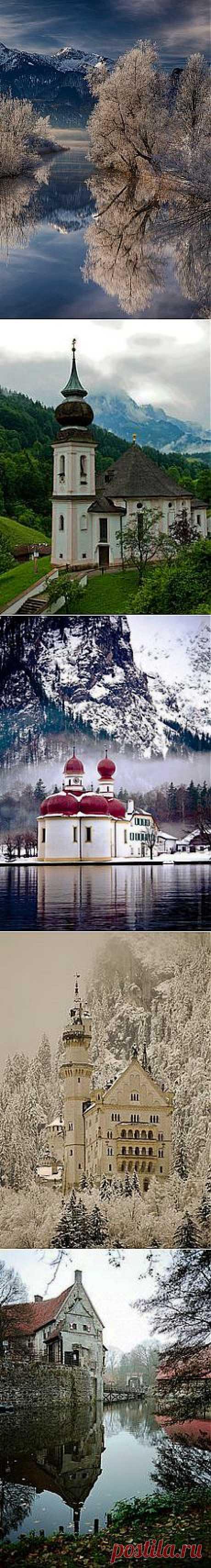 Wintery Lake - Baveria, Germany | Universe And Nature