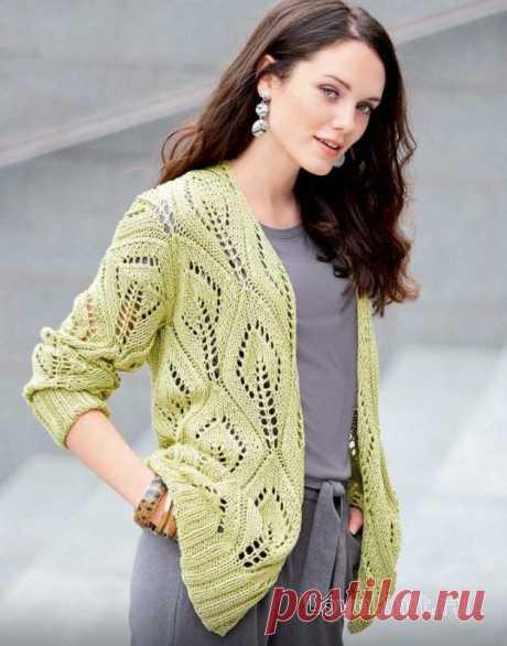3 интересные модели вязания спицами к осени. | Карантинная вязальщица | Яндекс Дзен