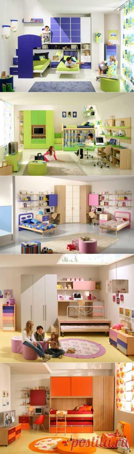(+1) тема - 50 дизайнов детских комнат. Универсальные варианты | Интерьер и Дизайн