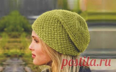 3 модные красивые шапки, которые легко связать самим (с описанием)   Идеи рукоделия   Яндекс Дзен