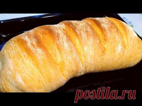 Хрустящий Хлеб в Рукаве! Новый Рецепт!