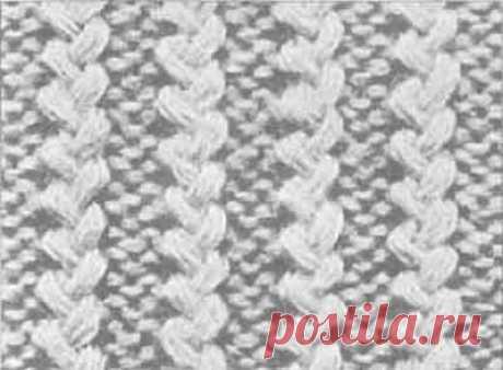 Вязаные резинки - Уроки вязания спицами
