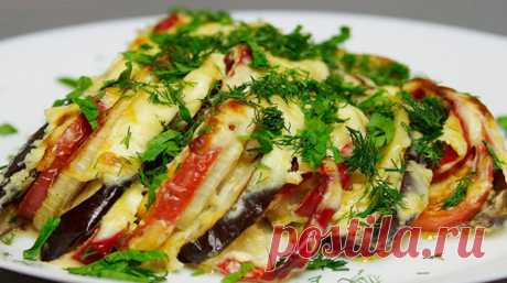 Баклажаны с овощами в духовке - ochenvkusno.com