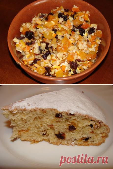 Ароматный пирог с сухофруктами - Кулинарный блог - Блоги - ИЛЬ ДЕ БОТЭ - магазины парфюмерии и косметики