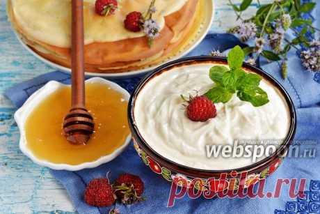 Крем из сметаны и мёда для торта рецепт с фото, как приготовить на Webspoon.ru