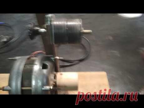 Гриндер без токарных работ из двигателя от стиральной машины + подключение без конденсатора