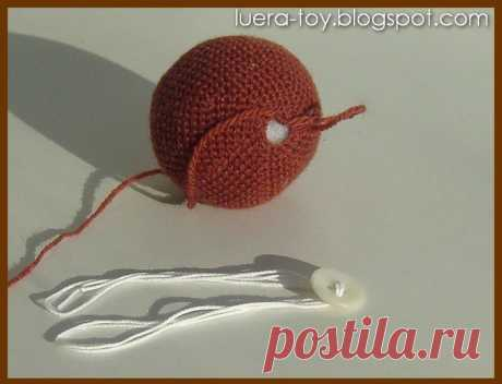 Knitting by a hook - toys