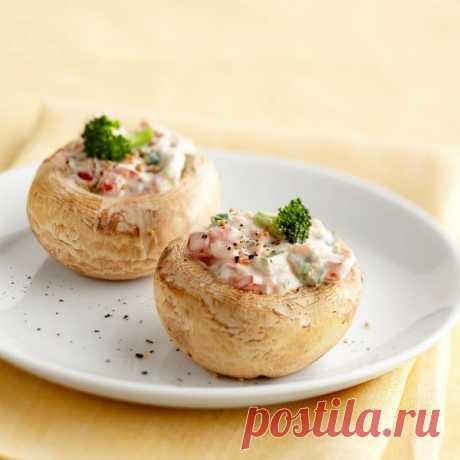 👌 Нежные фаршированные грибочки - лёгкая закуска на праздничный стол, рецепты с фото