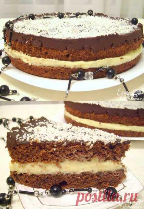 """La torta """"Шоколадно-кокосовый шифон"""""""