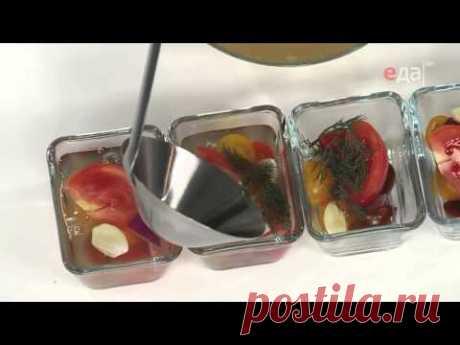 Заливное: 5 необычных рецептов / Простые рецепты/Заливное из помидоров