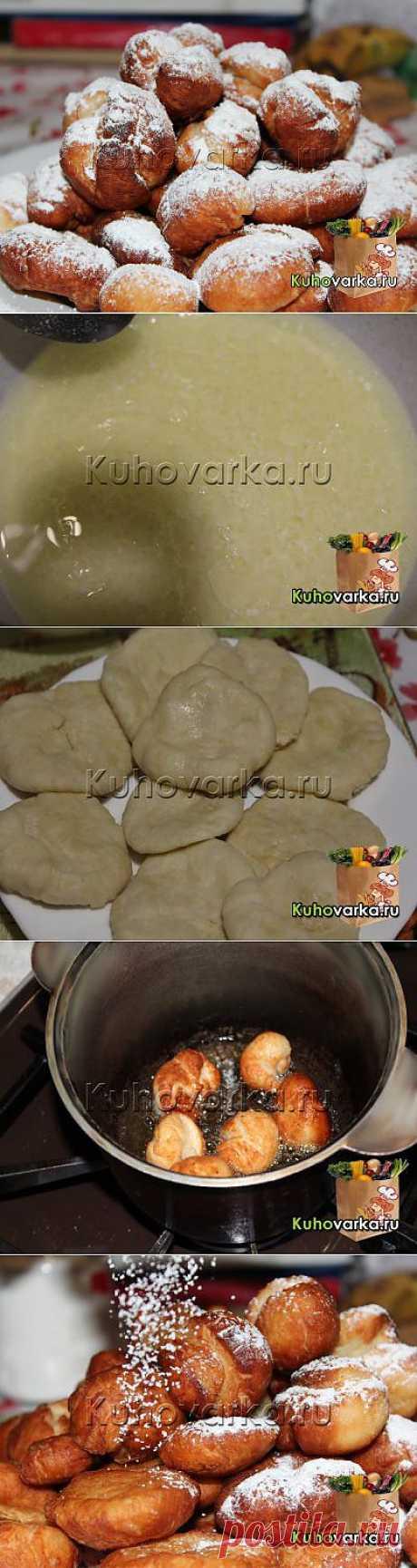 Постные пончики » Домашняя кулинария. Семейная энциклопедия блюд и рецептов