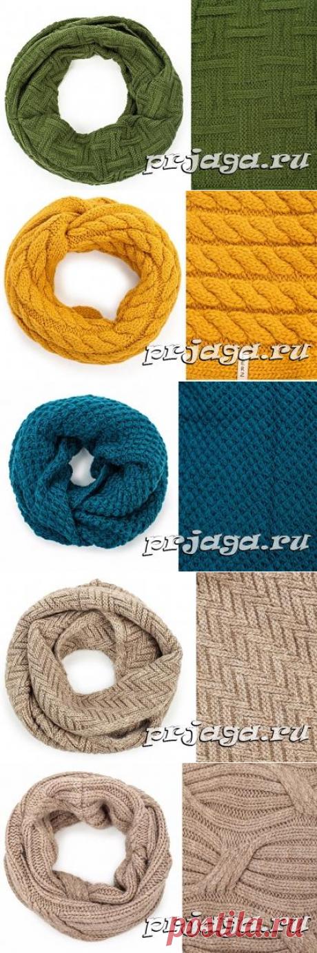 Вязание снудов, подборка узоров